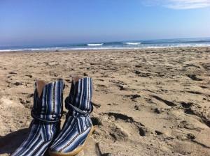 La foto es de Maitencillo - Chile, pero esas son las botas de las que hablo