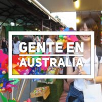Gente en Australia