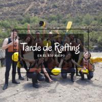 rafting cajón del maipo