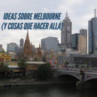Ideas sobre Melbourne